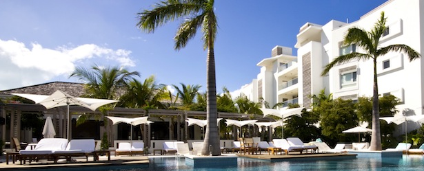 The Pool at the Gansevoort Resort Turks and Caicos
