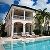 The pool view of Amazing Grace Villa in Turks and Caicos