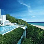 The ocean view at the Sea, Sand and Sky Villa, Anguilla