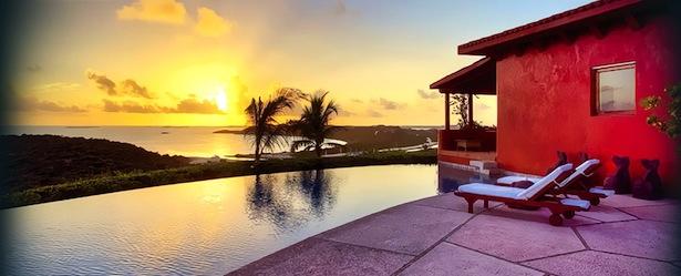 Bacaju Turks and Caicos Infinity POol