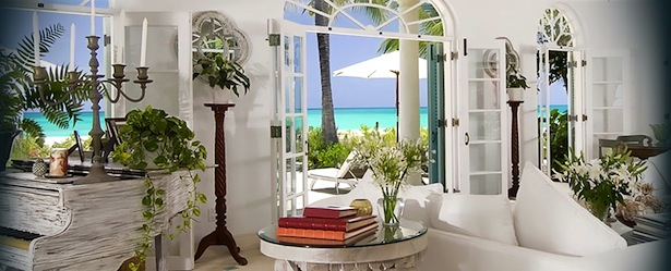 Interior of Coral House Villa Turks and Caicos