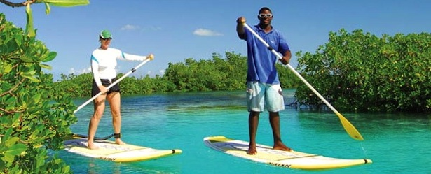 Big Blue Unlimited Stand Up Paddle Boarding Turks and Caicos