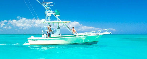 Turks and Caicos Fishing Boat
