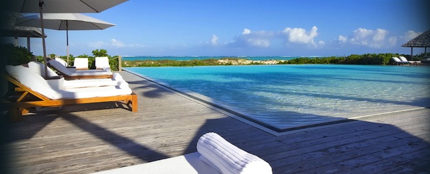 Parrot Cay Pool Turks and Caicos