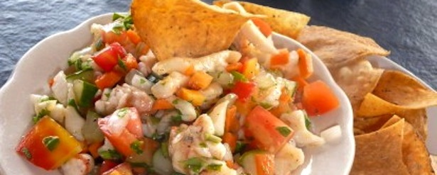 Things to do in Turks and Caicos Conch Salsa and Chips