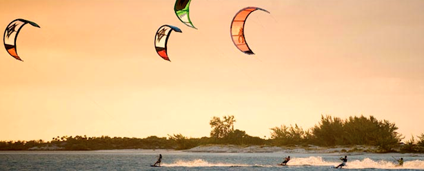 Kiteboarding Turks and Caicos