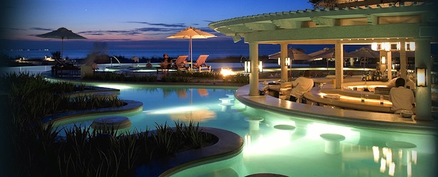 Regent Palms pool bars in turks and caicos