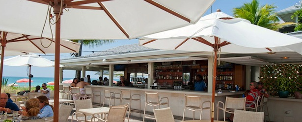 Turks and Caicos Dining: Ocean Club Resort Cabana Bar & Grille