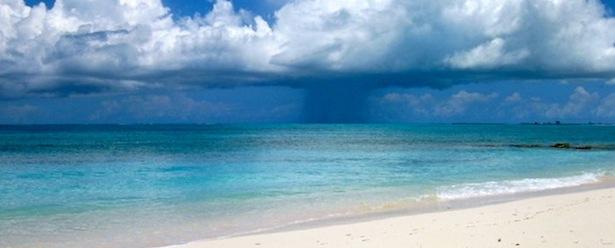 TUrks and Caicos Beach Drop
