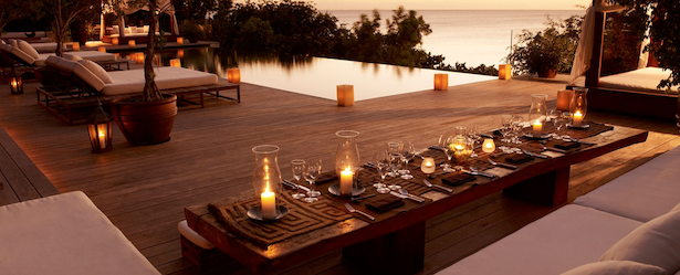 Dining in Turks and Caicos