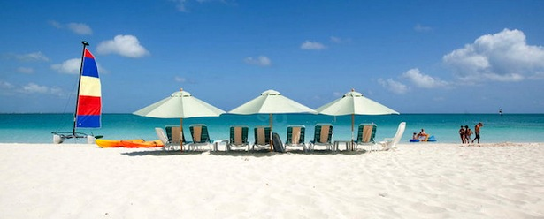 Beach-at-Sands-at-Grace-Bay Turks and Caicos