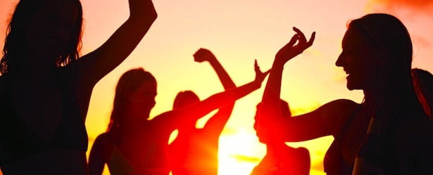 Turks and Caicos Beach Party