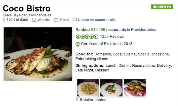 Provo Restaurants - Coco Bistro
